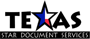 Texas Star Document Services, Logo